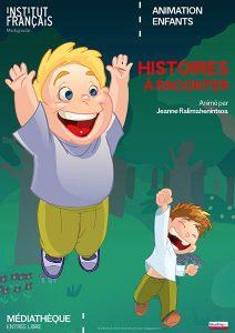 HISTOIRES À RACONTER - Animation / Enfants @ Médiathèque