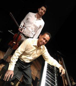 ADRIEN MARCHAND (violon) ET HERIMANITRA RANAIVO (piano) - Concert classique de midi