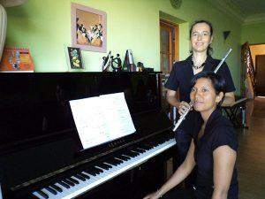 MIRANA RANDRIA, piano / AGNES JOIGNEREZ, flûte - Concert classique de midi @ Salle Albert Camus | Antananarivo | Antananarivo Province | Madagascar