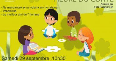 HEURE DU CONTE Animation Enfants