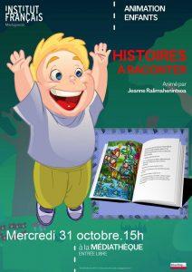 HISTOIRES À RACONTER Animation Enfants @ Médiathèque
