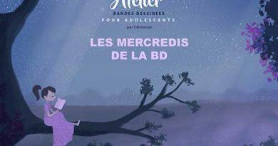 LES MERCREDIS DE LA BD – Atelier / Adolescents