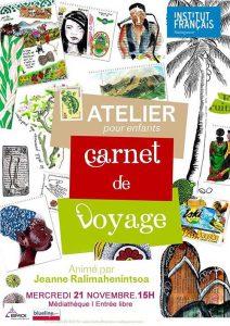 CARNET DE VOYAGE - Atelier / Enfants @ Médiathèque | Antananarivo | Antananarivo Province | Madagascar