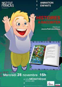 HISTOIRES À RACONTER - Animation / Enfants @ Médiathèque | Antananarivo | Antananarivo Province | Madagascar