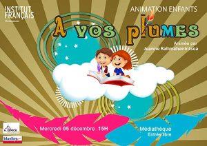 À VOS PLUMES - Animation / Enfants @ Médiathèque | Antananarivo | Antananarivo Province | Madagascar