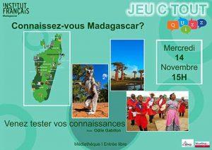 JEU C TOUT - Quizz @ Médiathèque | Antananarivo | Antananarivo Province | Madagascar