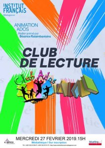CLUB DE LECTURE - Animation / Adolescents @ Salle Albert Camus