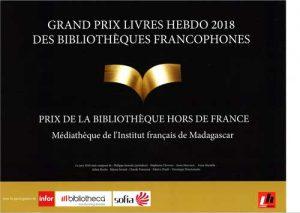 UN GRAND PRIX POUR LA MEDIATHEQUE - Distinction @ Médiathèque
