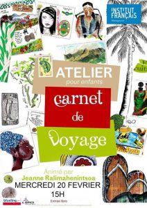 CARNET DE VOYAGE - Atelier / Enfants @ Médiathèque
