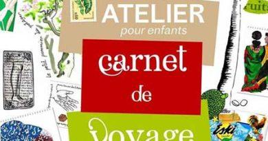 CARNET DE VOYAGE – Atelier / Enfants