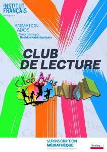 CLUB DE LECTURE - Animation / Adolescents @ Médiathèque