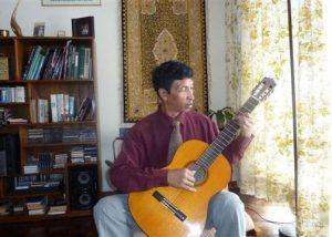 TSIHOARANA RAJAONSON, guitare - Concert classique de midi @ Salle Albert Camus