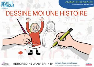 DESSINE-MOI UNE HISTOIRE - Animation / Enfants @ Médiathèque