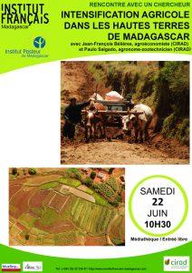 QUELLE INTENSIFICATION AGRICOLE POUR MADAGASCAR ? - Rencontre avec un chercheur @ Médiathèque
