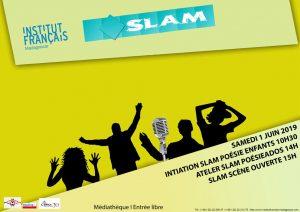 SLAM - Poésie / Enfants / Adolescents @ Médiathèque