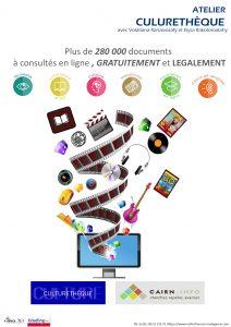 CULTURETHÈQUE - Animation / Bibliothèques numériques @ Médiathèque