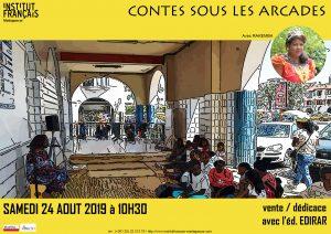 CONTES SOUS LES ARCADES - Animation / Enfants @ Médiathèque