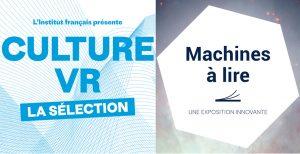 CULTURE VR / MACHINES A LIRE - Exposition / Novembre Numérique 2019 @ Galerie