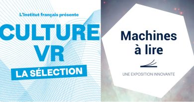 CULTURE VR / MACHINES A LIRE – Exposition / Novembre Numérique 2019