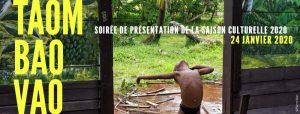 SAISON CULTURELLE 2020 / TAOMBAOVAO - Soirée de lancement @ IFM
