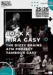 ROCK X HIRA GASY - Concert IF Aime @ Salle Albert Camus