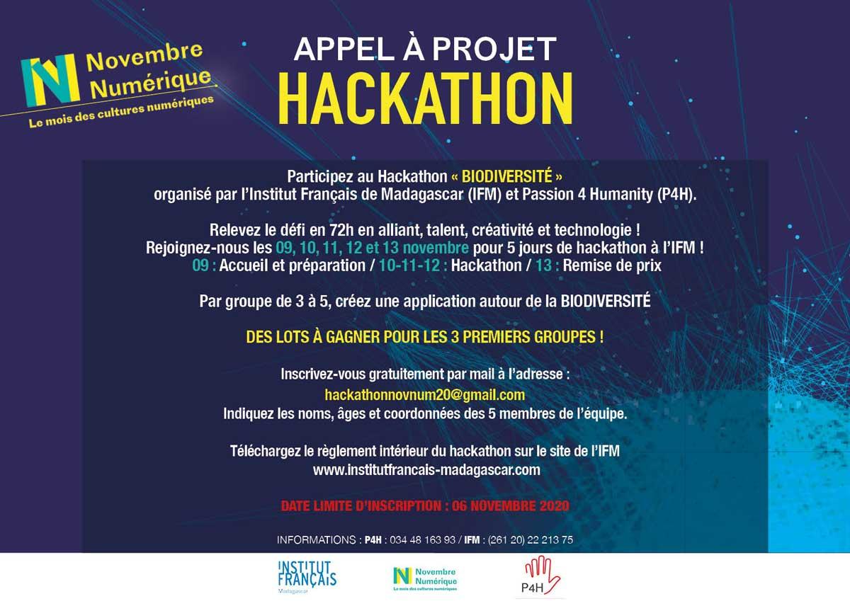 HACKATHON - Appel à projets @ Institut Français de Madagascar | Antananarivo | Antananarivo Province | Madagascar