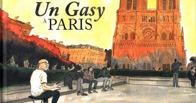 Présentation d'une oeuvre – «UN GASY À PARIS» par DWA